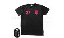 T-shirt - Uvelse Floorball - Sort - ICE-T