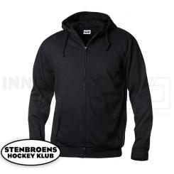 Hættetrøje m. lynlås - Stenbroens Hockey Klub - Hoody Full Zip