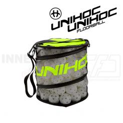 Unihoc Ballbag Flex neon yellow