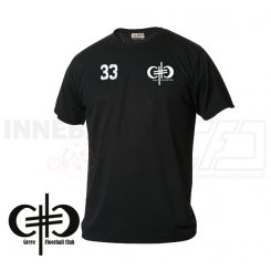 Trænings T-shirt - Greve Floorball - Herre - Sort