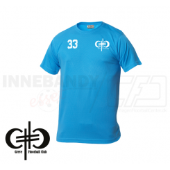 Trænings T-shirt - Greve Floorball - Junior - Tyrkis