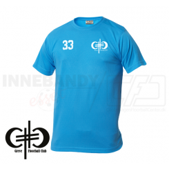 Trænings T-shirt - Greve Floorball - Herre - Tyrkis