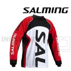 Salming Cross Målmandstrøje - hvid/sort/rød