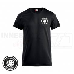 Trænings T-shirt - Sydsjællands Floorball Club - ICE-T sort