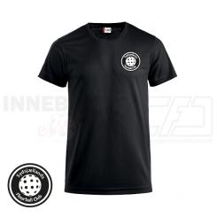 Trænings T-shirt - Sydsjællands Floorball Club - ICE-T sort