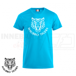 Trænings T-shirt - Haubro Tigers - ICE-T lyseblå