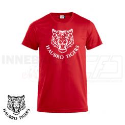 Trænings T-shirt - Haubro Tigers - ICE-T rød