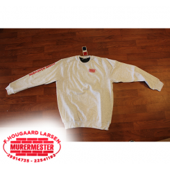 Sweatshirt - Basic Roundneck - Murermester F. Hougaard