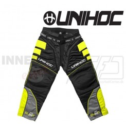 Unihoc Summit Målmandsbukser sort/neon gul