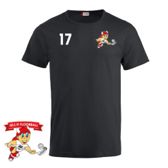 Trænings T-shirt - Sort - Jels IF Floorball