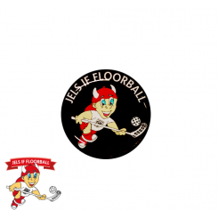 End cap med logo - Jels IF Floorball