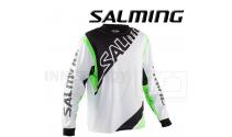 Salming Phoenix Målmandstrøje white / geecko green