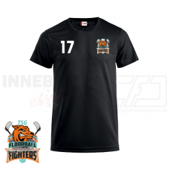 Funktionel T-shirt - TSG Floorball Fighters - ICE-T Sort