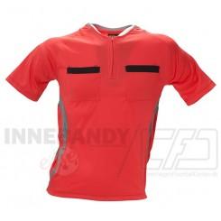 Dommertrøje Rød (Den officielle trøje fra Unihoc)