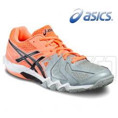 Asics Gel Blade 5 - Dame - grey/salmon