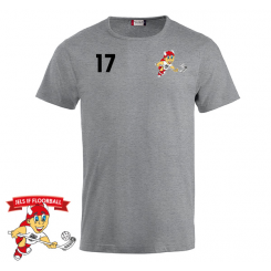 Trænings T-shirt - Grå - Jels IF Floorball