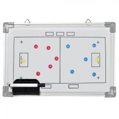 Whiteboard 30 x 45 - Floorball - incl. pen og magneter