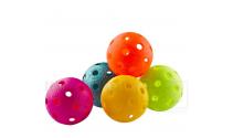 Farvede floorball bolde