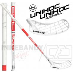 Unihoc Epic Bamboo 29 white/neon red