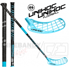 Unihoc Epic Feather Light 26 black/ice blue