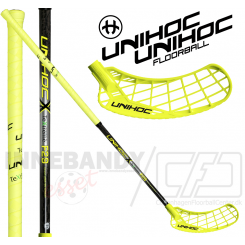 Unihoc Epic TeXtreme Feather Light 29 neon yellow - Floorballstav