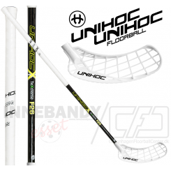 Unihoc Epic TeXtreme 26 white/black - Floorballstav