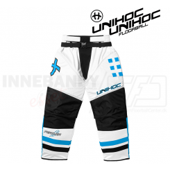 Unihoc Feather Målmandsbukser white/blue