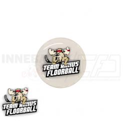 End cap med logo - Team Århus Floorball
