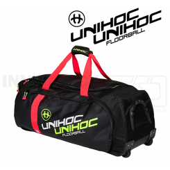 Unihoc Gearbag Crimson Line with wheels