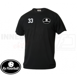Funktionel T-shirt - Ry Floorball - ICE-T Sort