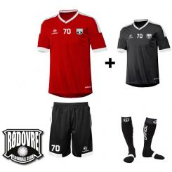 Spillersæt - Rødovre FC - Komplet - Campione
