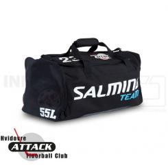 Taske - Hvidovre Attack FC - Salming Teambag - med nr. og logo