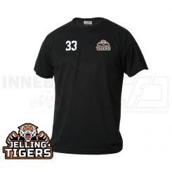T-shirt - Jelling Tigers - ICE-T Sort