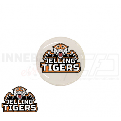 End cap med logo - Jelling Tigers