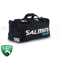 Taske - Vallensbæk Floorball - Salming Teambag - med nr. og logo