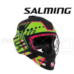 Salming Travis Elite Hjelm - black / gecko green
