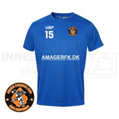 T-shirt - Amager Floorball Klub - ICE-T Blå