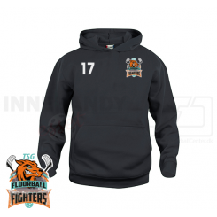 Junior Hættetrøje - TSG Floorball Fighters - Basic Hoody