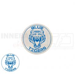 End cap med logo - Blue Tigers