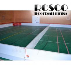 Rosco Floorball Bander - Splitter sæt 20x40 m, hvid