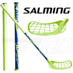 Salming Q2 Kid 35 (77 cm) lime/blue