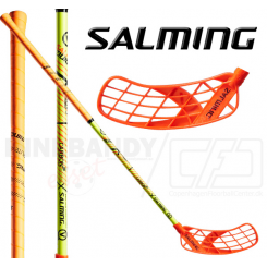 Salming Q5 CarbonX 29 orange/yellow - Floorballstav