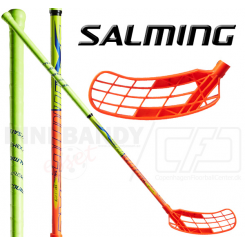 Salming Q1 X-shaft KickZone TipCurve 3° 27 orange/yellow