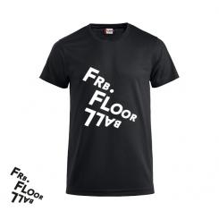 T-shirt Logo - Frederiksberg FC - ICE-T - Sort