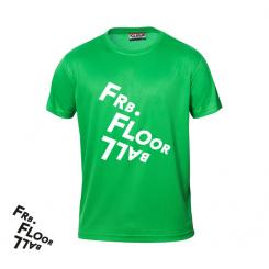 T-shirt Logo - Frederiksberg FC - ICE-T - Grøn