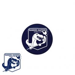 End cap med logo - Randers Raptors