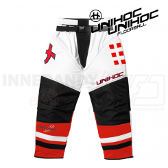 Unihoc Feather Målmandsbukser white/red