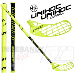 Unihoc Unity Feather Light 26 yellow/black - Floorballstav