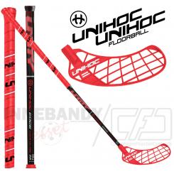 Unihoc Unity Edge Curve 1.0° 29 red/black - Floorballstav