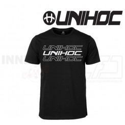 Unihoc T-shirt - Triple black